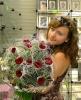 Я держу прекрасный букет роз!!!