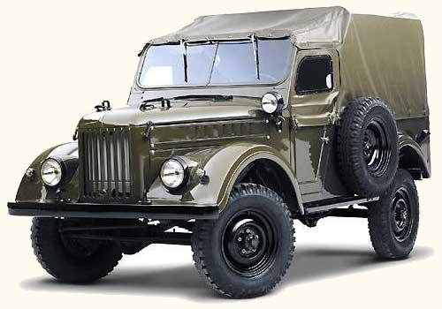 Советский «труженик» ГАЗ-69